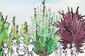 Chenôve – Plantation de la première forêt comestible de la région dijonnaise