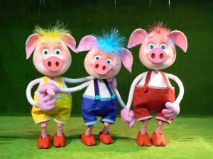 Spectacle de marionnettes – «Les trois petits cochons»