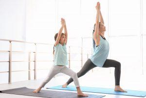 J'aime, je partage : Le yoga parent-enfant