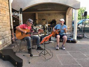 Concert avec Marc et Michel + vernissage de l'expo Rencontres