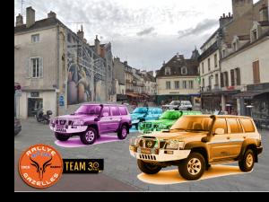 Départ d'équipages locaux au rallye Aïcha des Gazelles du Maroc 2020