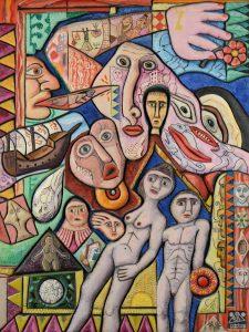 Inauguration et vernissage de la rétrospective de l'artiste Mario Chichorro