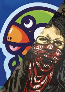 Art urbain à Dijon : Résidence PEC & RNST
