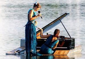 Le Piano du lac – Concert flottant