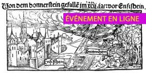 EN LIGNE – Les chutes de pierres extraterrestres. Détections d'hier et d'aujourd'hui