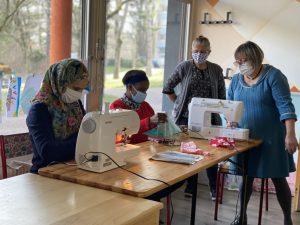 Fabrication de produits naturels et couture