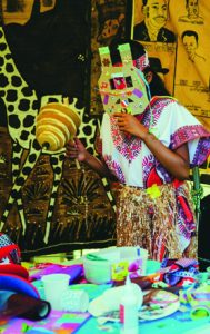 Atelier masques africains